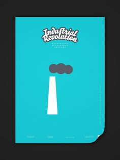 Minimalist Modern History 15c–19c on the Behance Network
