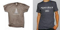 Pinestock Festival t-shirts