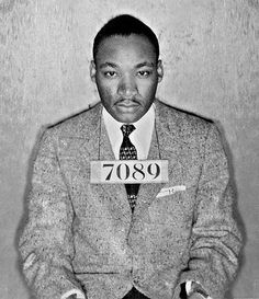 Tumblr #bw #luther #martin #mug #shot #jr #7089 #mlk #king