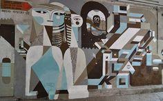 FFFFOUND! #nelio #art #street #blue #grey