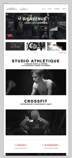 Studio Locomotion #website #layout #design #web