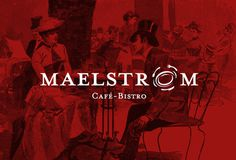 Maelstrom #canada #bistro #branding #cafe #logo