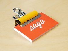 Dribbble - Business Card Holder by Bill S Kenney #logotype #business #card #print #holder