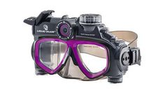 Dive in for some underwater fun and record some unique footage with a Liquid Image waterproof video camera goggle! #adventure #camera #design #product #goggles #industrial #video #fun #underwater