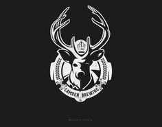 Logos IV – Camden Brewing #logo #brand #design #deer