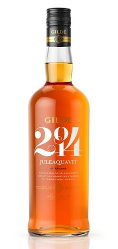 Gilde Juleaquavit 2014 #packaging #aquavit #stdesign
