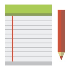 See more icon inspiration related to notebook, agenda, bookmark, business and address book on Flaticon.