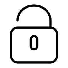 See more icon inspiration related to lock, padlock, security, secure, unlocked and Tools and utensils on Flaticon.