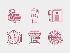 Dribbble - Build Conference Icons. by Tim Boelaars