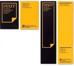 Txell Grà cia / Dixit, Centre de Documentació de Serveis Socials #design #graphic #identity #stationery #logo #dixit