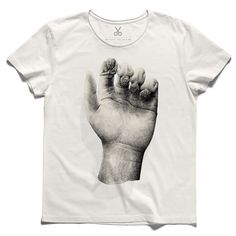 #gehoorzaam #offwhite #tee #tshirt #seneca #hand #angel #finger #palm #prayer #religion