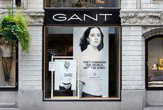 Gant by Essen International #sign #typography
