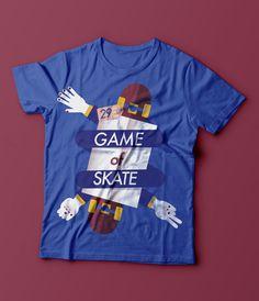 Game of skate on Behance, Magda Azab