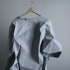 mashallahdesign10.jpg #origami #sweater #folds
