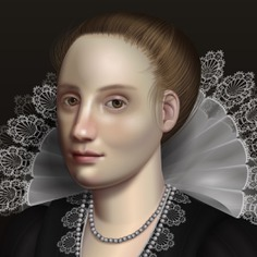 Painting Art With HTML/CSS - INSPIRED BY FLEMISH BAROQUE OIL PORTRAITS.