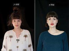 7AM-7PM Portrait Series by Barbara Iweins
