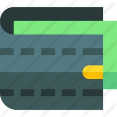 See more icon inspiration related to cash, purse, wallet, pay, fashion, business and money on Flaticon.