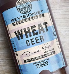 Tescos Revisionist #beer #packaging #type