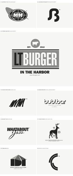 LOGO DESIGN II on Behance #logo