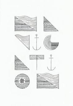 NAVIGATION Art Print