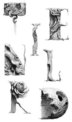 Typeverything.com Tendril Typeface Study by... - Typeverything #tendril #typeface