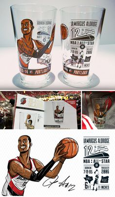 LaMarcus Aldridge Glass