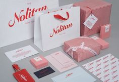 The Nolitan Hotel - TheDieline.com - Package Design Blog #red #branding #packaging #marque #hotel #nyc