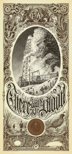 Aaron Horkey There Will Be Blood Regular Mondo Paul Thomas Anderson Poster Print | eBay