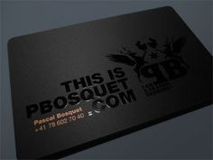 Business Cards. itevenhasawatermark.com » Pbosquet #gloss #business #branding #card #identity #spot