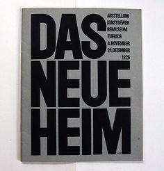 FFFFOUND! | felix - books • kienzle: das neue heim • wiedler.ch #cover #type #bold #book