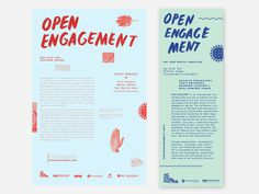 OPEN ENGAGEMENT Sarah Baugh #print