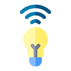 See more icon inspiration related to intelligent, light bulb, light, wireless, signal, signs and technology on Flaticon.