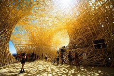 Amazing art installation at Burning Man