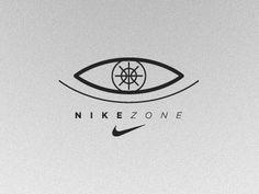 Dribbble - Nike Zone 1 by Noa Emberson #modern #noa #nike #identity #logo #basketball #emberson
