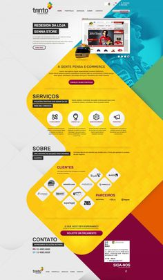 "Image Spark - Image tagged ""layout"", ""yellow"", ""blue"" - wojsrv #web design"