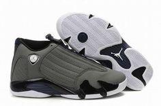 Nike Air Jordan 14 Retro Grey Men's #shoes