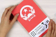 The Political travel guide of Vietnam #vietnam #political #guide #design #travel #book