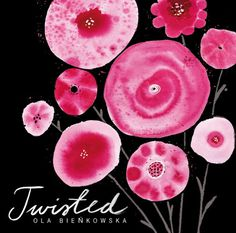 MARJAINEZ #spots #cover #illustration #package #cd #flowers #watercolour