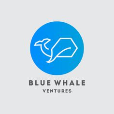 Logo Blue Whale Ventures #logo #logodesign #minimal #whale #illustration #graphicdesign
