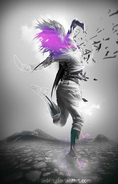 work by me :) violet symphony ..link to deviantarthttp://ahmedart.deviantart.com/art/Violet-symphony-173885773