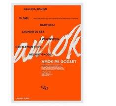 ANDREAS JOHANSEN #design #graphic #poster