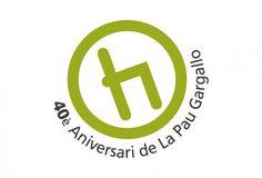 40è Aniversari de la Pau Gargallo | Ciscu Design #pau #gargallo #40 #logo