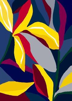 'Dancing flowers' by Ophelia Pang