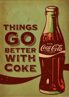 Coca Cola vintage by Kareem Gouda #Coke #Cocacola