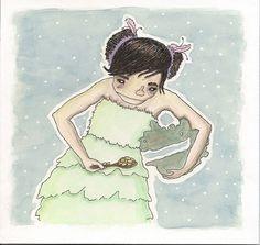 Jessica Flaherty Illustration #flaherty #illustration #jessica #watercolor