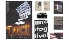 Singapore International Photography Festival collaterals by Asylum #graphic design #print