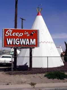 Google Image Result for http://www.roundamerica.com/images/May/2003-05-03/trip-2003-05-03-AZ-Holbrook-Sleep-in-a-Wigwam-sign-640.jpg #66 #route #kitsch #road #trip #wigwam