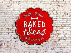 Baked Ideas on the Behance Network #form #red #branding #packaging #book #website #identity #vintage #logo #web