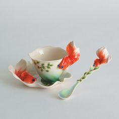 Kingyo #teaspoon #goldfish #cup #kingyo