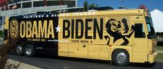 Political RV Wrap #biden #obama
